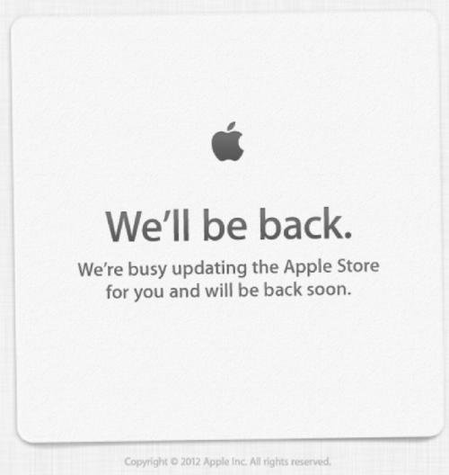 فروشگاه آنلاین اپل از دسترس خارج شد